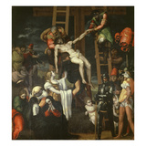 Deposition of Christ, 1520-25 Giclee Print by Pedro Machuca