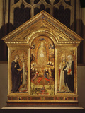 The Assumption of the Virgin Mary, 1461, with Saints Fotografie-Druck von Lorenzo Di Pietro Vecchietta