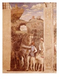 Landscape with Horse and Grooms Giclee Print by Andrea Mantegna