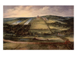 Château De Mariemont, Built 1600-20, Flanders Giclee Print by Jan Brueghel the Elder