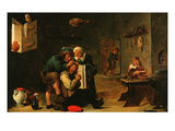 Surgical Operation, 17th Century Giclee Print by David Teniers the Younger
