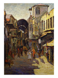 Entrance to Souk (Market), Damascus, Syria, C. 1901 Giclee Print by N. Jafari