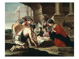 Adoration of the Shepherds, 1640 Giclee Print by Louis Lenain