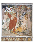 Descent into Hell, Scene from Christ's Passion, Fresco, 1492 Giclee Print by Giovanni Canavesio