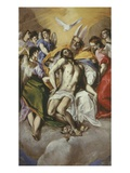 The Trinity 1577-9 Painted at Toledo 300X179Cm Giclee Print by El Greco