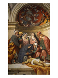 The Body of Christ, 1520-22 Fresco Giclee Print by Giovanni Antonio Pordenone