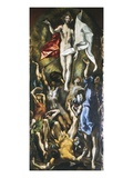 Resurrection of Christ, 1605-10 Lámina giclée por  El Greco