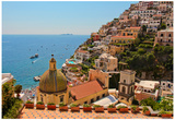 Cliffs of the Almafi Coast Italy Posters