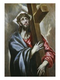 Christ Carrying the Cross 108X78Cm Giclee Print by El Greco