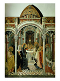 The Presentation of Christ in the Temple Giclee Print by Giovanni di Paolo