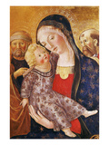Madonna, Child and Saints Reproduction procédé giclée par Francesco di Giorgio Martini