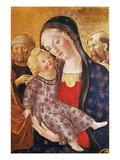 Madonna, Child and Saints Giclee Print by  Francesco di Giorgio Martini