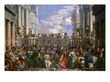 The Wedding at Cana, Painted 1562-63 Premium Giclee Print by Paolo Veronese