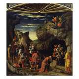 The Adoration of the Magi, from Triptych Altarpiece Giclee Print by Andrea Mantegna