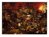 Dulle Griet (Mad Meg), C. 1562 Giclee Print by Pieter Brueghel