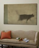 Blurred Cat Walking Prints by Mia Friedrich