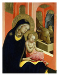 Madonna and Child, from Adoration of the Magi (Detail) Giclee Print by Lorenzo Monaco