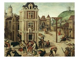 Saint (St) Bartholomew's Day Massacre (Of Protestants), 24 August 1572 Giclee Print by Francois Dubois