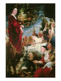 Offering to Ceres (Roman Goddess of Agriculture), 1618-20 Giclee Print by Jacob Jordaens
