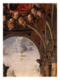 Cherubs; the Holy Spirit, from the Annunciation (Detail) Giclee Print by Marco Palmezzano
