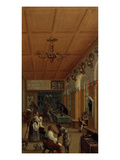 Barber's Shop, Early 17th Century Giclee Print by  Flemish School