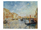 Grand Canal, Venice, 1881 Giclee Print by Pierre Auguste Renoir