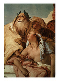 Sacrifice of Iphigenia (Father Agamemnon Agreed to Sacrifice Her on Diana's Altar) Giclee Print by Giambattista Tiepolo