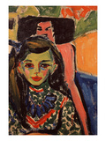 Portrait of Franzi, 1908 Giclee Print by Ernst Ludwig Kirchner