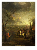 Siege of Valenciennes, 16 March 1677 (Louis Xiv's Dutch War of 1672-79) Giclee Print by Jean-Baptiste Martin
