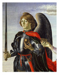 Michael, from Tobias and the Three Archangels (Detail) Giclee Print by Francesco Botticini