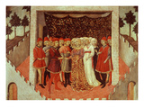 Nobleman's Wedding Giclee Print by Sano di Pietro