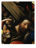 Christ, from Christ Carrying the Cross, C. 1490 (Detail) Premium Giclee Print by Hieronymus Bosch