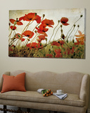 Orange Flower Patch Posters par Mia Friedrich