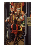 Christ before Pontius Pilate (Pilate Washing His Hands) Giclee Print by Jan Baegert