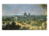 Royal Monastery of San Lorenzo El Escorial, Near Madrid Giclee Print by Michel-ange Houasse