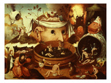 The Vision of Tondal Giclee Print by Hieronymus Bosch