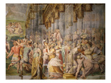 Fresco, 1566-71From the Sala Di Bacio Giclee Print by Jacopo Zanguidi Bertoja