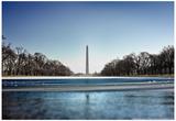 Washington Monument Reflecting Pool Washington DC Posters