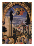 Walled Town, from Altarpiece of San Marco (Detail) Giclee Print by Fra Angelico