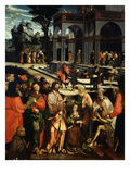 The Raising of Lazarus, 1530 Giclee Print by Matthias Horn