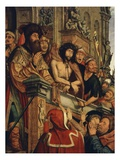Ecce Homo, Christ Shown to the People by Pontius Pilate, 1518-20 Giclee Print by Quentin Metsys