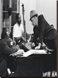 Frank Sinatra Piano  Reproduction sur toile tendue
