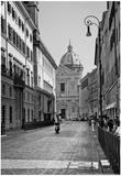 Street Scene Rome Italy Poster