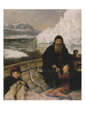 Hudson's Last Voyage, 1881 Lmina gicle por John Collier