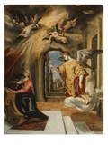 The Annunciation, 1577-80 Giclee Print by El Greco