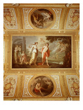 Ceiling with Hermaphroditus and Salmacis Giclee Print by Ubaldo Buonvicini