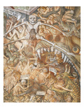 The Mouth of Hell with the Damned, Topped by Death Who Engulfs Them, Last Judgement Giclee Print by Giovanni Canavesio