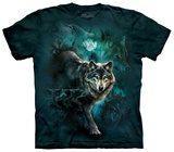 Night Wolves Collage Tshirts