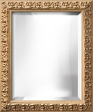 SOFIA Gold Wide Mirror Wall Mirror