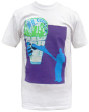 Animal Collective - White Snowcone (Slim Fit) T-shirts